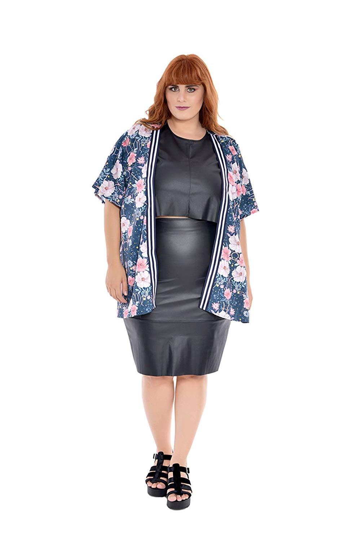 Kimono Plus Size Floral