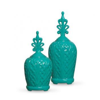 Enfeite Cerâmica Objeto Decoração Sala – JD Decorações