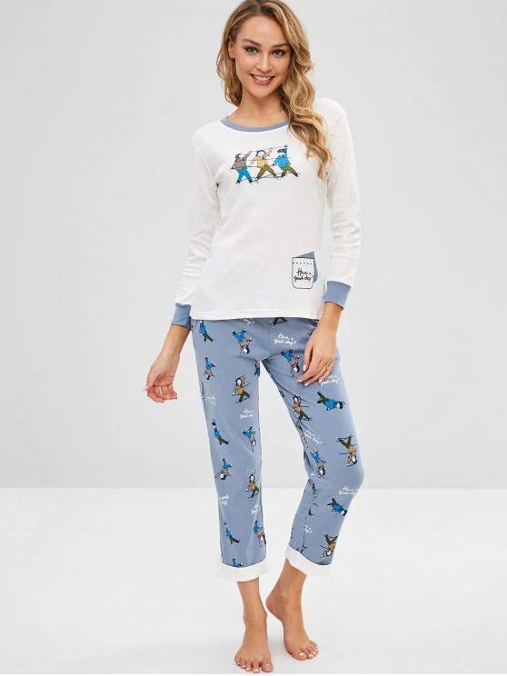 Pijama  Impressão De Menina