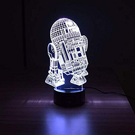 Luminária 3D – Star Wars