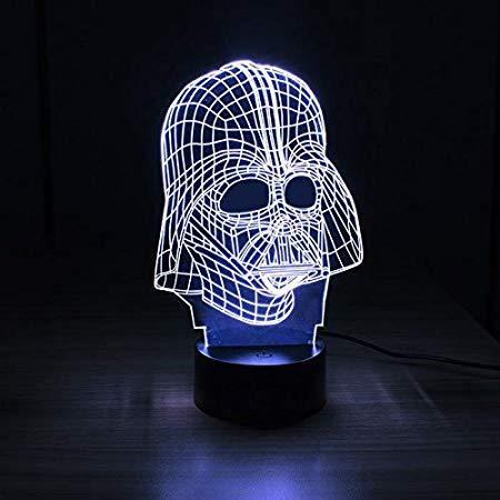 Luminária 3D – Darth Vader