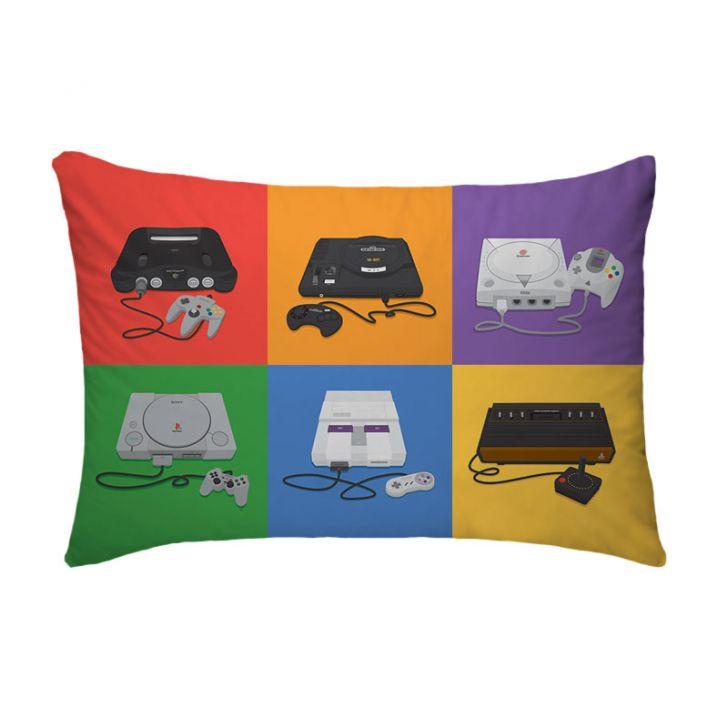 Fronha Para Travesseiro Nerderia Video Games
