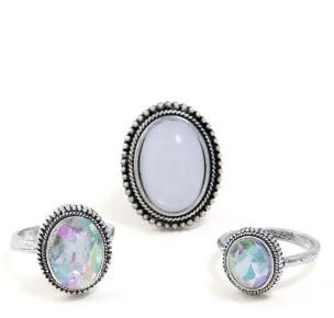 3 aneis – bijuterias