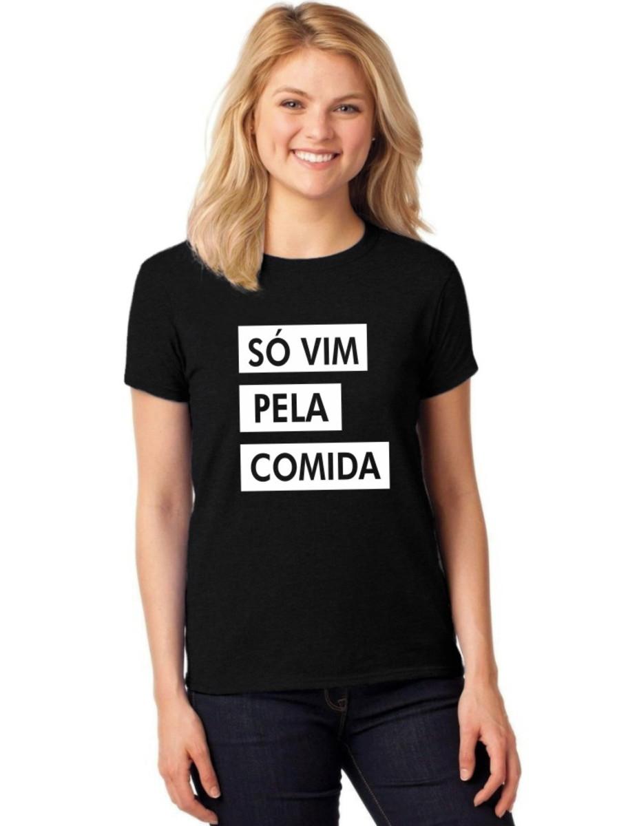 Camiseta Feminina T-Shirt