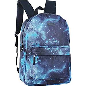 mochila estampa galaxy