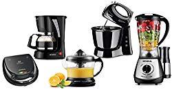 Conjunto Especial Cozinha Completa 220V, Mondial KT-76, Preto, Mondial, Conjunto Especial