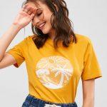 Camiseta amarela summer