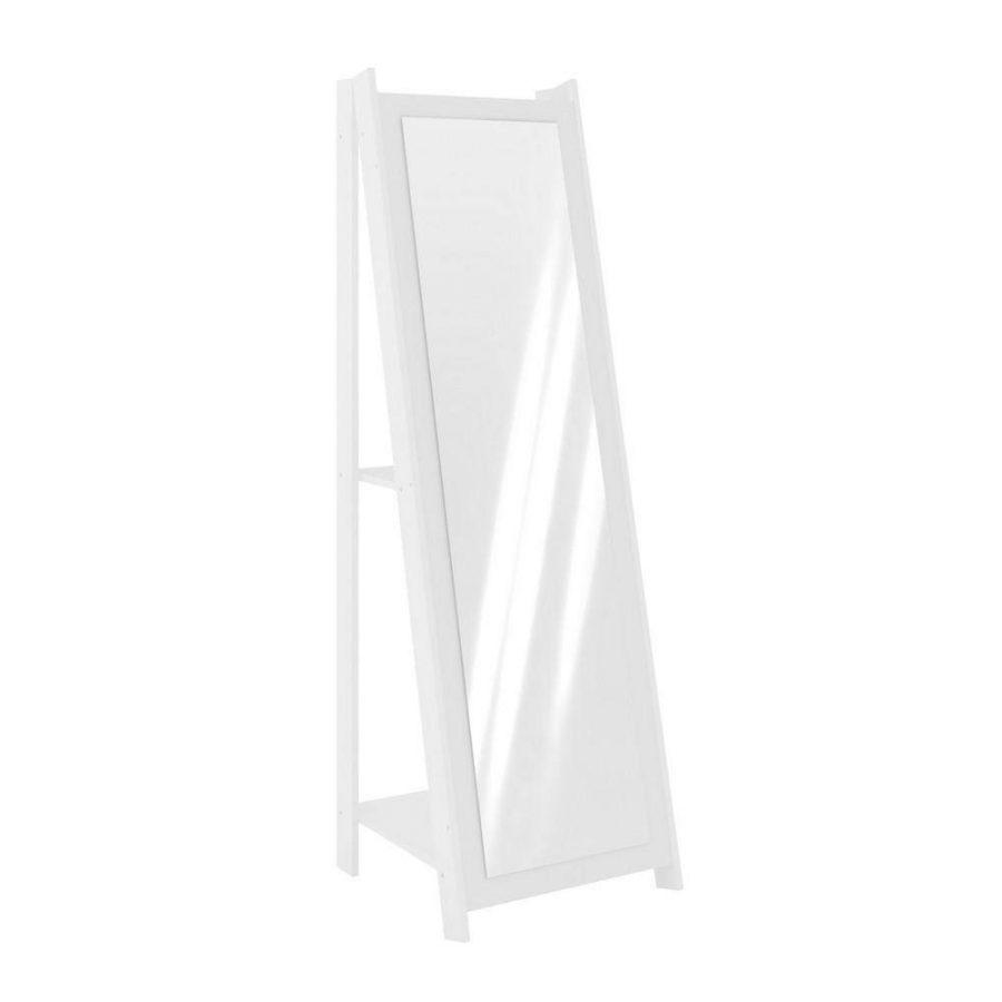 Espelho Retrô Branco