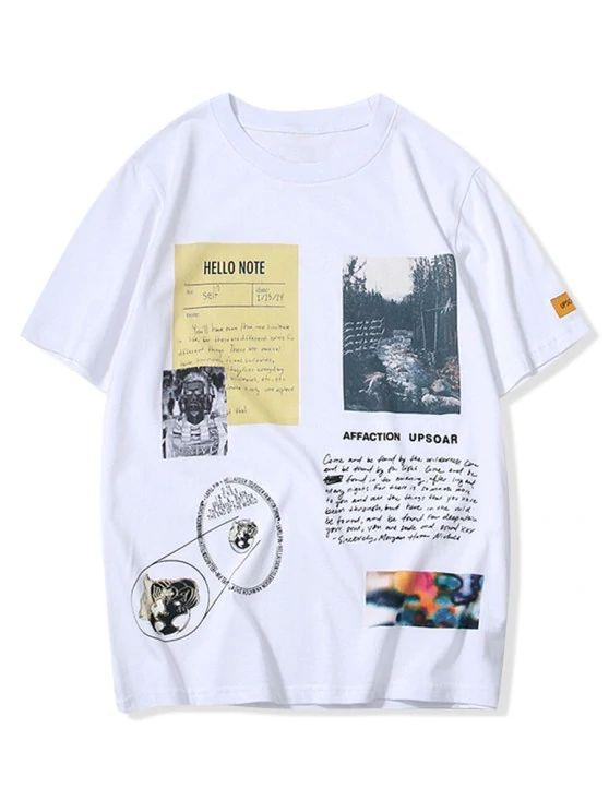 Camiseta escrita
