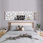 Espelho Decorativo Mosaico Espelhado Prata