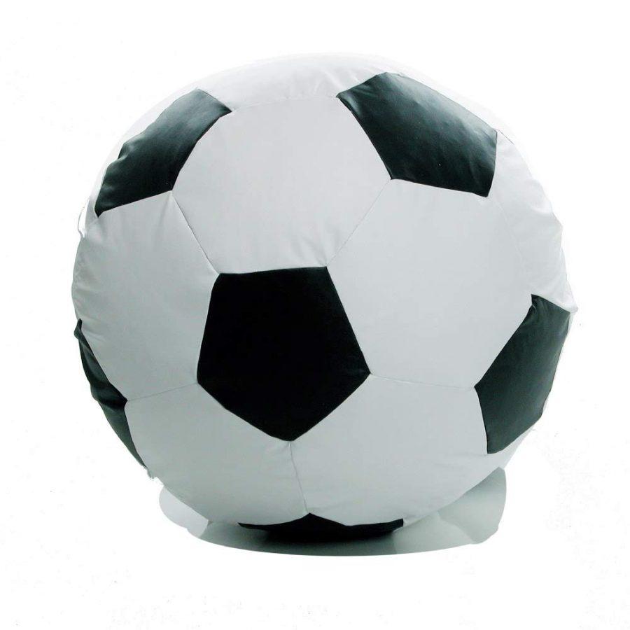 Puff Ball Futebol Corino Branco