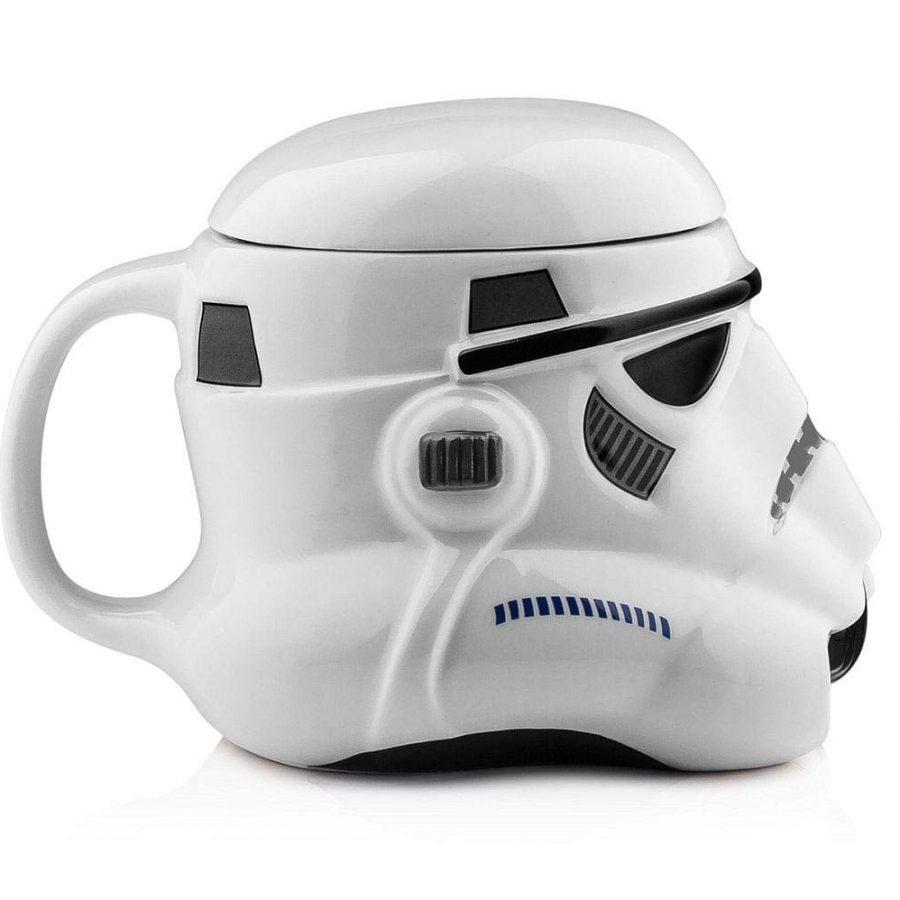 Caneca de Cerâmica 3D Stormtrooper Star Wars