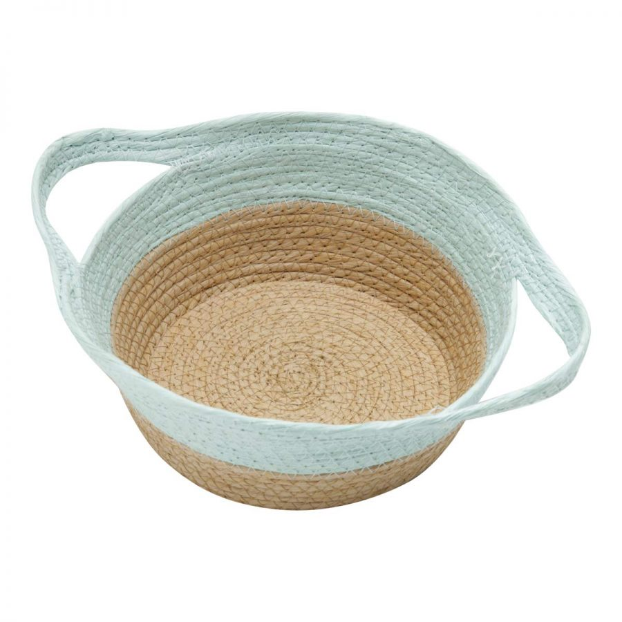 Cesta Decor Fibra Braid 31X24X10Cm