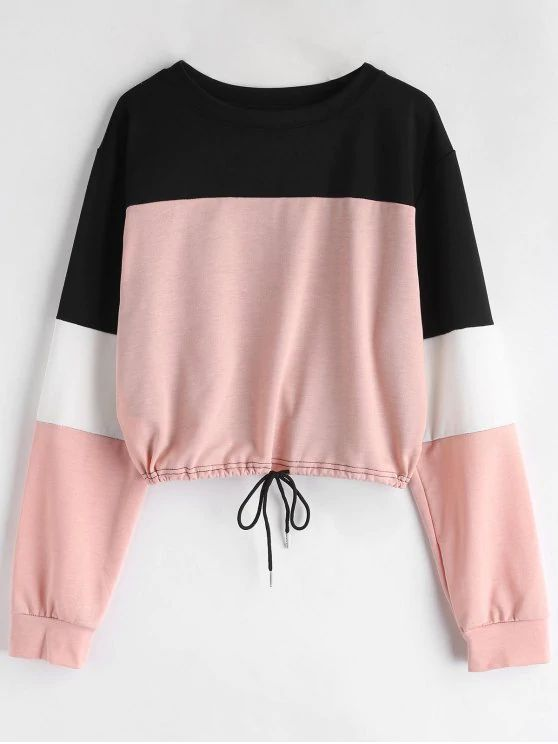 Blusa- preta branca rosa
