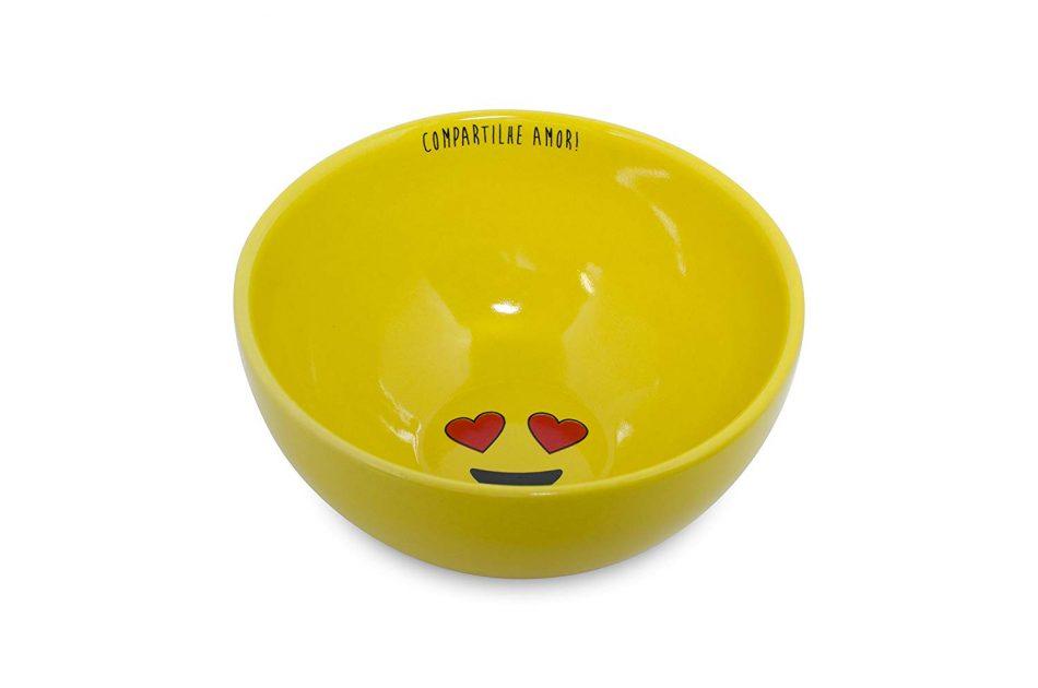Bowl Mondoceram Amarelo 13 x 13 x 5 cm