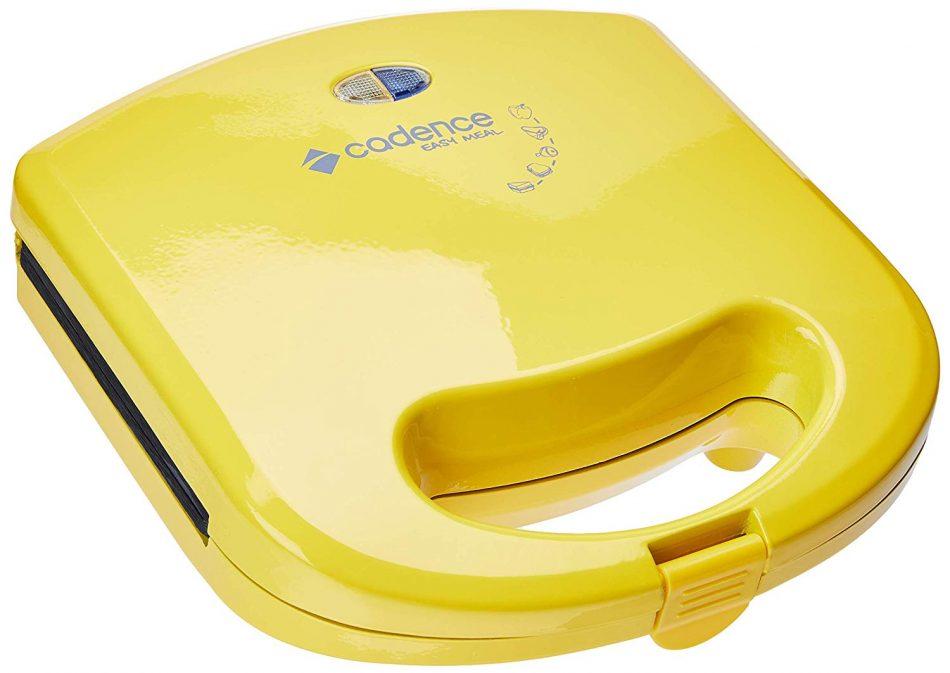 Sanduicheira Minigrill Cadence Colors Amarela Cadence Amarelo 220v