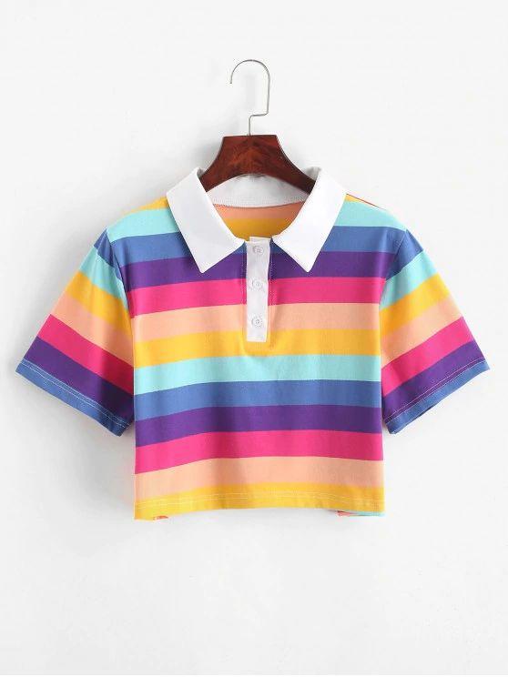 T-shirt arco iris