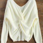 Blusa tricot -Branca