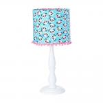 Abajur  de Mesa Carambola Luminárias Estampado / Azul / Rosa