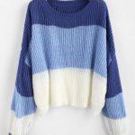 Blusa tricolor -feminina