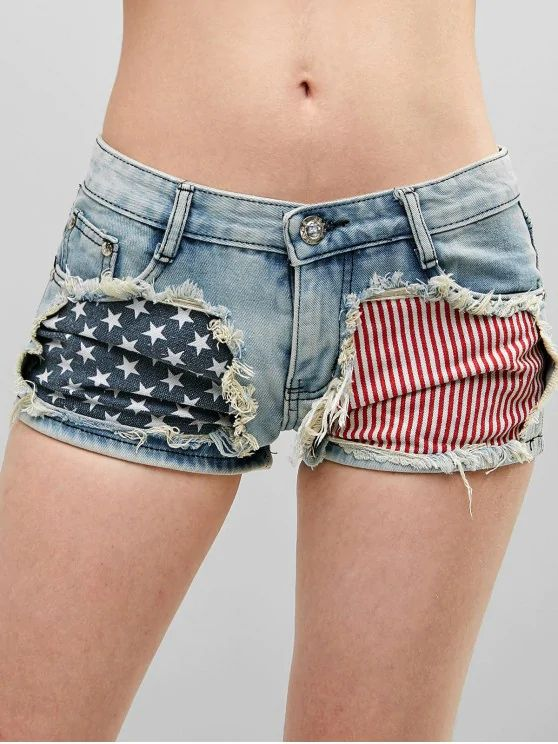 Short bandeira americana