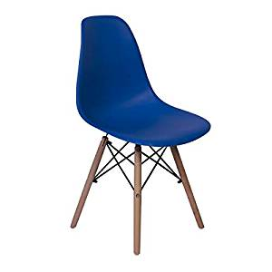 Cadeira Charles Eames Eiffel Dkr Wood – Design – Azul