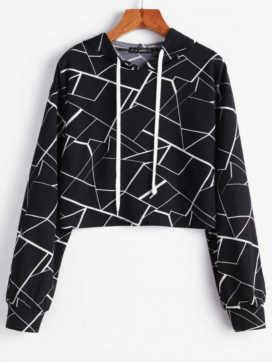 Blusa estampa formas geometricas