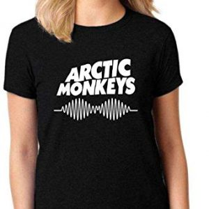 Camiseta Feminina T-Shirt Arctic Monkeys