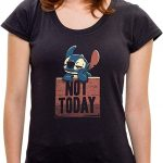 Camiseta Not Today – Feminina