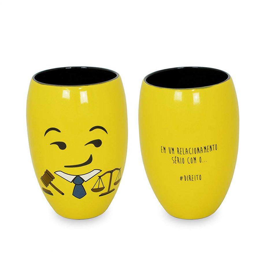 Copo Diverticon-Direito Mondoceram Amarelo 8.7 x 8.7 x 12.2 cm
