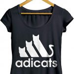 Camisetas Adicats Gatos Cats
