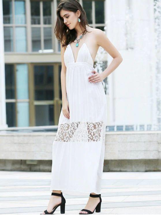 vestido renda-branca