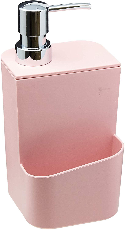 Dispenser para Detergente,Rosa Quartzo, 650 ml