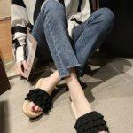 Sandalha com babado