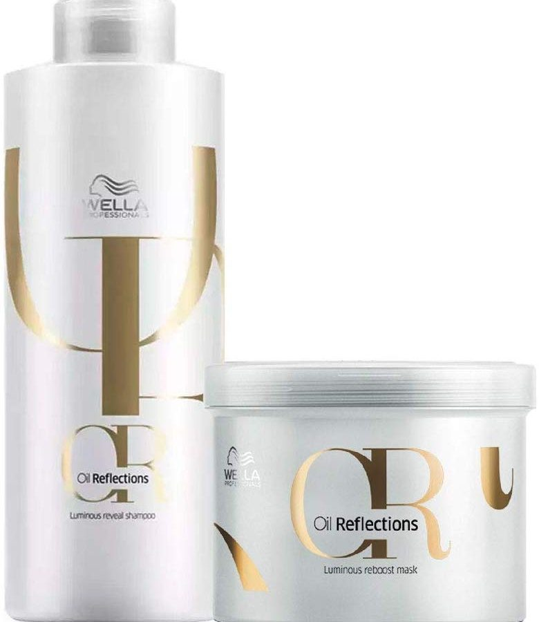 Kit Wella Oil Reflections Professional Tratamento de Salão