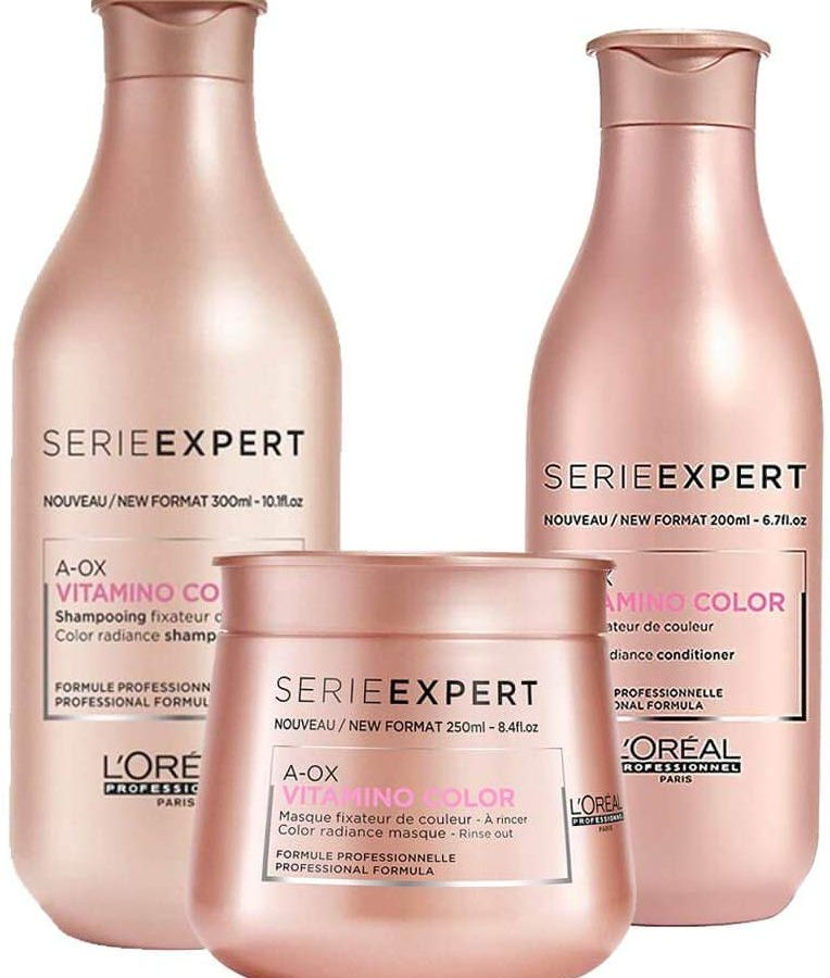 Kit Shampoo Condicionador e Máscara L'Oréal Vitamino Color A-OX