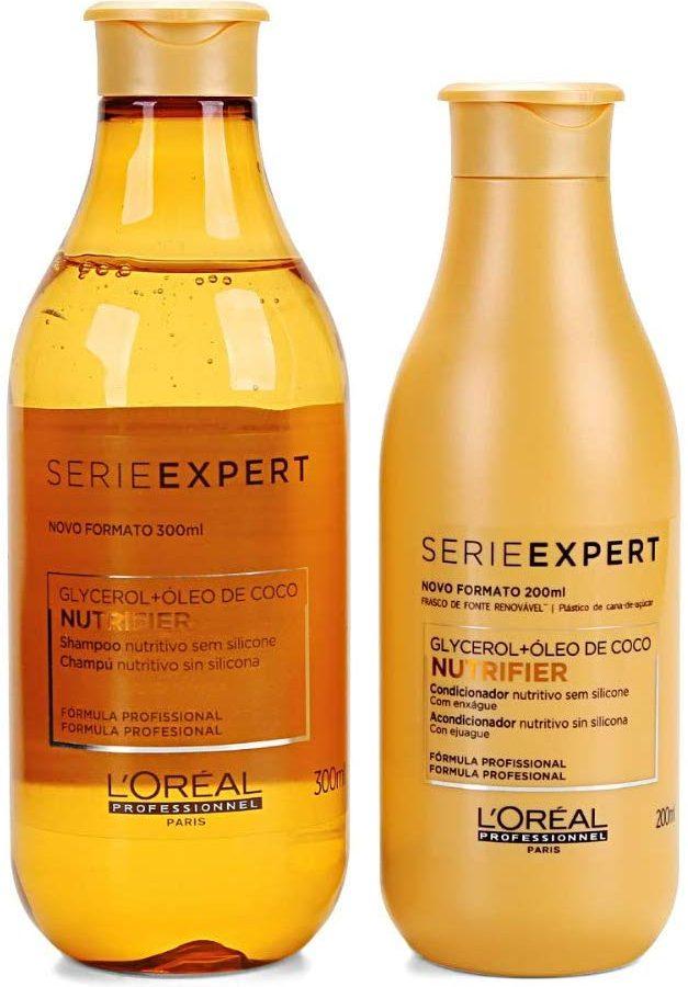 Loreal Expert Kit Nutrifier Shampoo 300Ml E Condicionador 200Ml