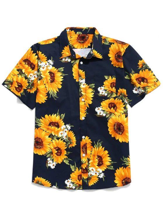 Camisa estampa Girassol