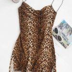 Vestido estampa Leopardo