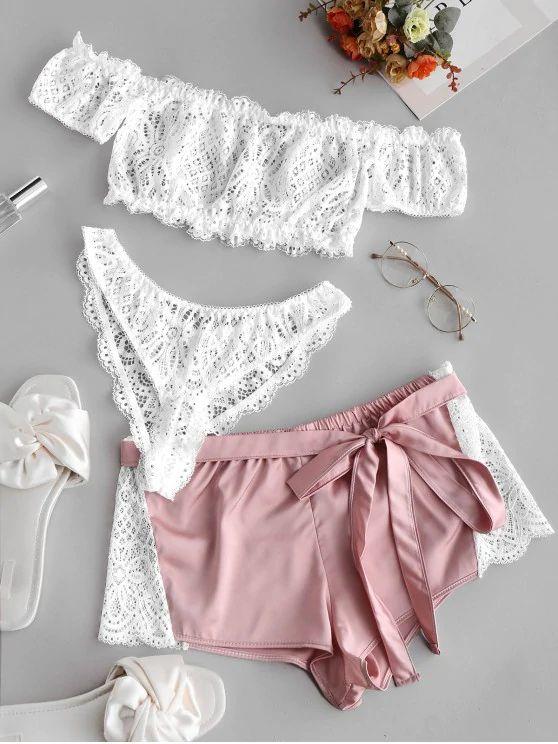 lingerie ombro a ombro –