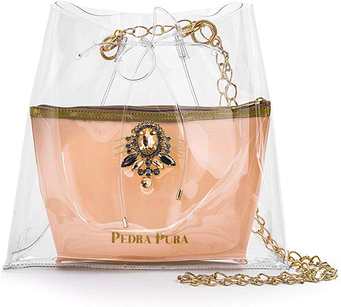Bolsa Transparente Black Diamond