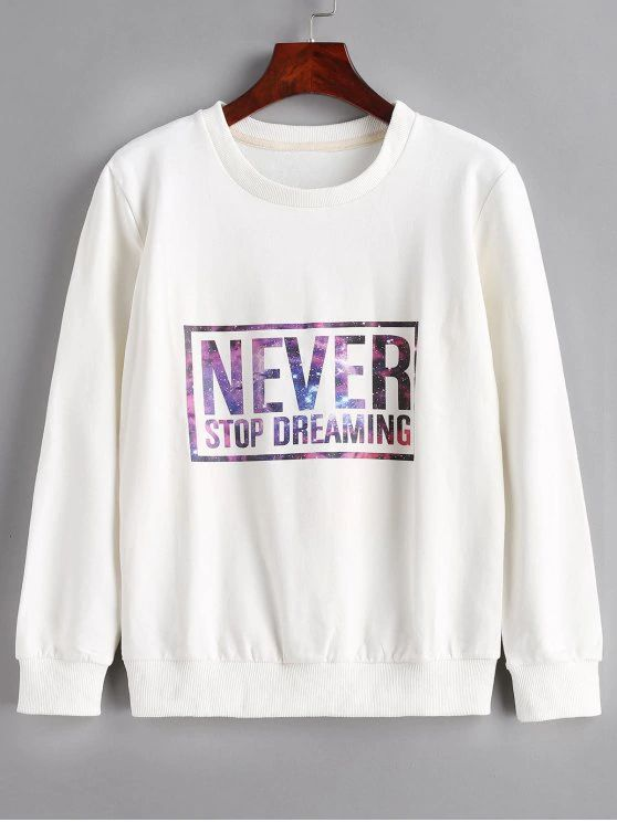 "Blusa estampa "" never"