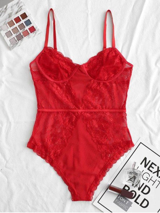 lingerie body de renda –