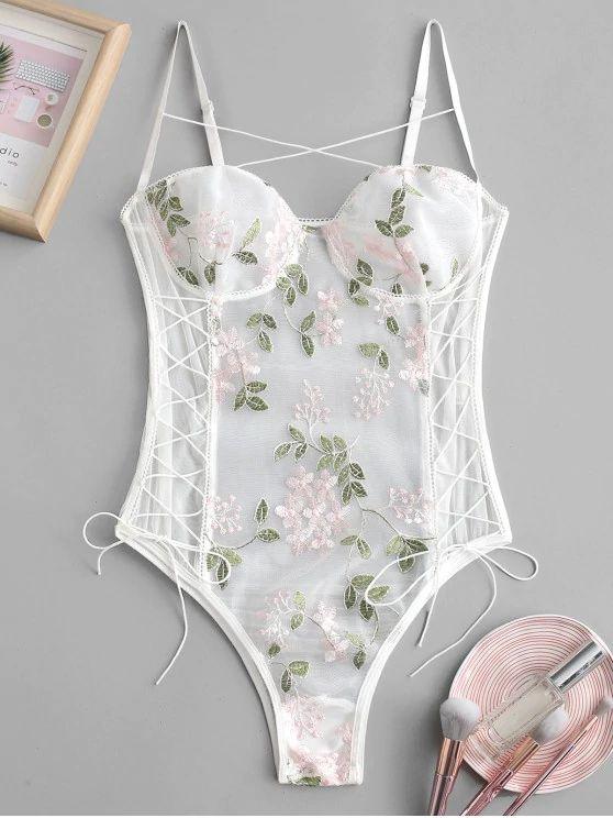 body lingerie – branco