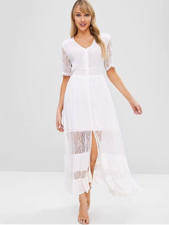 Vestido de renda fashion