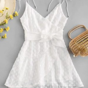 mini vestido renda