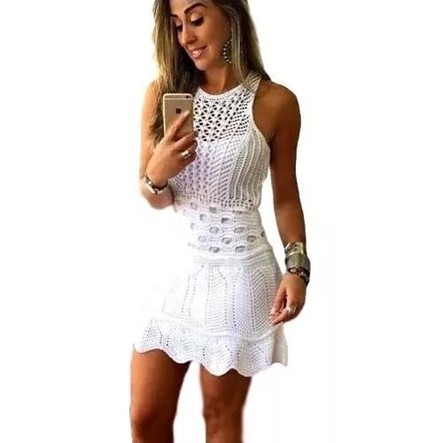 Vestido Feminino Curto Regata