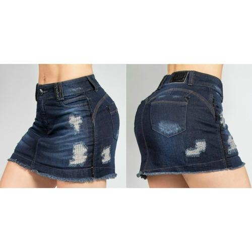 Saia Feminino Pit Bull Jeans Original