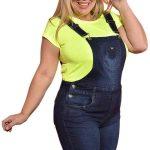 Jardineira Plus Size Jeans