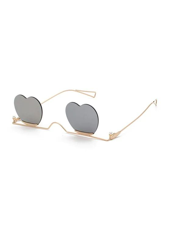 Óculos lente de coração